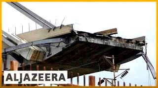 🇮🇹 Italy: Bridge collapse near Genoa kills several | Al Jazeera English - ALJAZEERAENGLISH