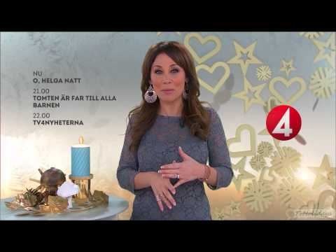 TV4 HD Sweden Christmas Eve Announcer / Hallåan Julafton 2013
