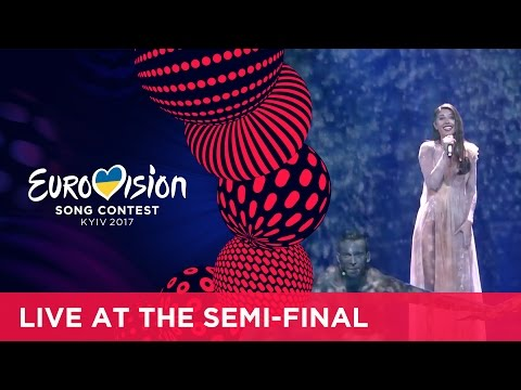 Demy - This Is Love (Greece) LIVE at the first Semi-Final