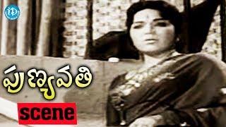 Punyavathi Movie Scenes - Bhanumathi Ramakrishna Fires On Krishna Kumari || S V Ranga Rao - IDREAMMOVIES