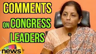 Nirmala Sitharaman Comments On Congress Leaders And Activists At BJP Central Office | Mango News - MANGONEWS