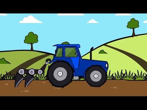 Раскраски трактора теремок тв