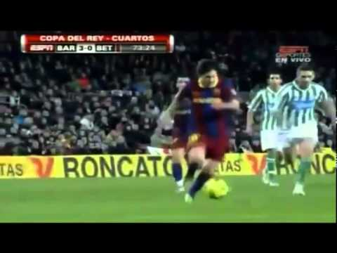 Barcelona vs Real Betis 5 0 HQ All Goals & Full Match Highlights 12 01 2011