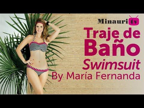 DIY - Cómo hacer un traje de baño #13 - How-to make a swimsuit by María Fernanda
