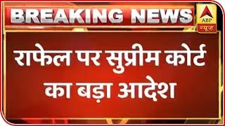 Rafale: SC's new bench to hear Prashant Bhushan's review petition - ABPNEWSTV