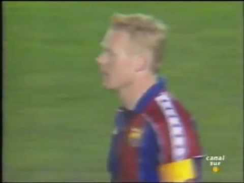 Copa del Rey 1994 Bara Betis. Gol de Juanito Juan Luis Amigo 
