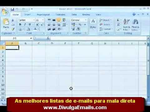 Video aula de Excel 2007  Curso excel (parte 3 de 4)