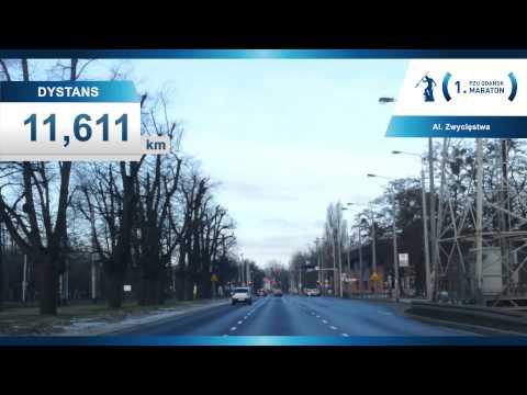 trasa 1. PZU Gdańsk Maraton