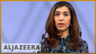 🏆Nobel prize winner Nadia Murad full speech l Al Jazeera English - ALJAZEERAENGLISH