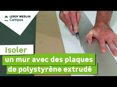 Plaques de polystyrène extrudé leroy merlin