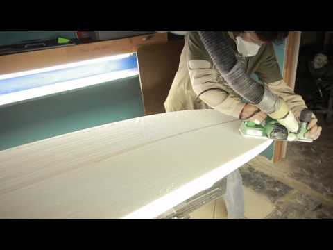 paul carter how to shape a surfboard - part2