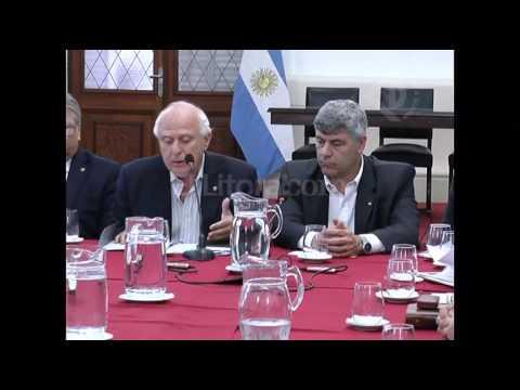 Emergencia hídrica: reunión en Casa de Gobierno