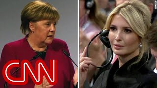 Awkward silence after Pence mentions Trump in speech - CNN