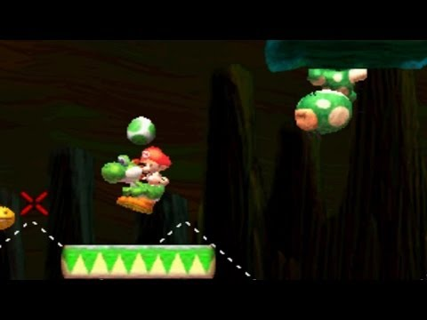 Yoshi's New Island - World 1-S (Red Coins & Flowers)