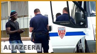 🇫🇷 French police accused of abusing rights of migrants and refugees   Al Jazeera English - ALJAZEERAENGLISH