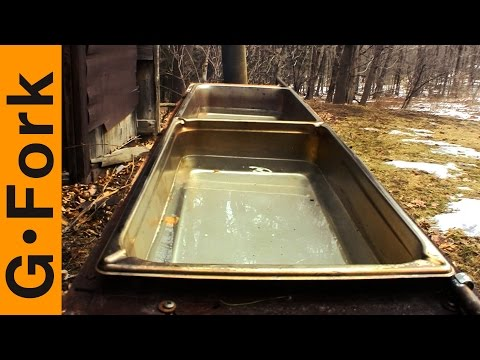 Cheap Evaporator Update - Make Maple Syrup - GardenFork