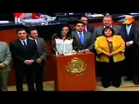 Senadores de México ante situación de Venezuela