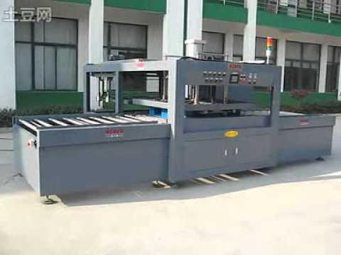 Maquina para fabricar pallet plastico