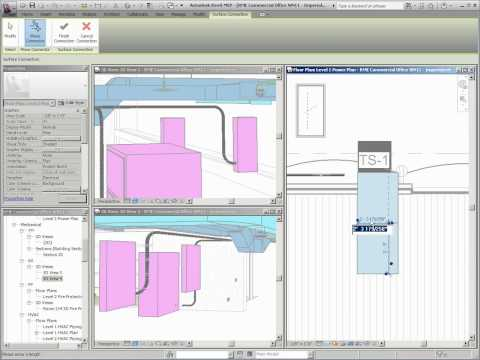 What's New in Revit MEP 2011 - Conduit Layouts