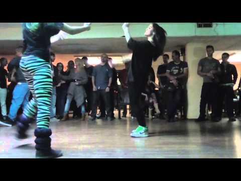 Girl's hip hop dance off   XNRG BDAY 2014