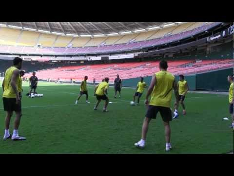 FC Barcelona Training Session Counter Attack TV