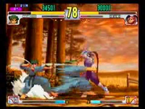 Street Fighter III: Third Strike: Makoto vs Ibuki
