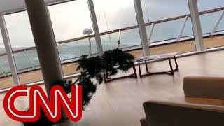 Video shows chaos inside of cruise ship being evacuated - CNN