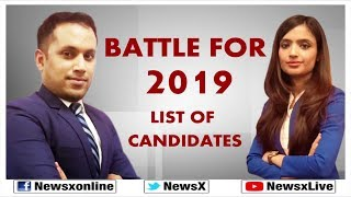 Battle For Lok Sabha Elections 2019: BJP To Release List Of Candidates | Poll Tracker - NEWSXLIVE