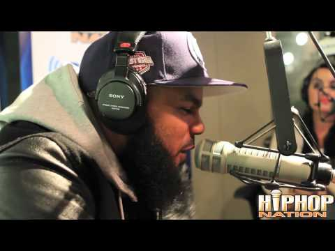 "Stalley's ""On Da Spot"" Freestyle On Invasion Radio With DJ Green Lantern & Boss Lady"