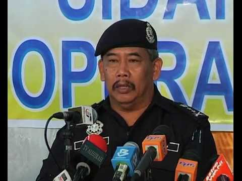 video laporan terkini lahad datu - update dari pdrm
