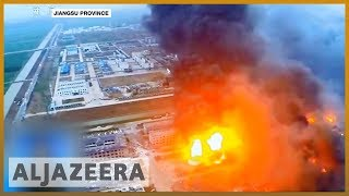 🇨🇳 Blast at Chinese chemical plant kills 47, injures 640 l Al Jazeera English - ALJAZEERAENGLISH