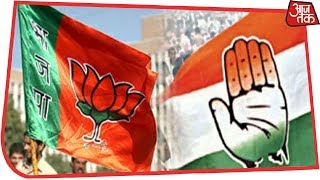 Congress Leads In Hundred Seats In Madhya Pradesh, BJP In 90 | Election Results Live - AAJTAKTV