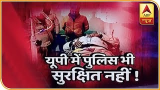 Noida: Man dies after speedy car meets with an accident - ABPNEWSTV