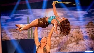 Amelle Berrabah's Performance to 'These Boots Are Made for Walking'  - Tumble: Episode 3 - BBC One - BBC