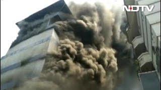 केरलः एर्नाकुलम के रेलवे स्टेशन के पास लगी आग, मची अफरा-तफरी - NDTVINDIA