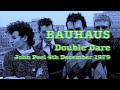 Bauhaus John Peel 4th December 1979