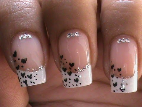 French Manicure Nail Art Designs How To