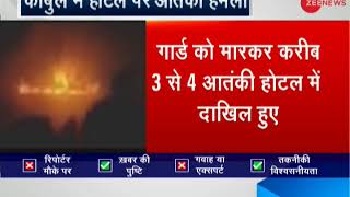 Kanul Hotel Attack: Encounter between security forces, terrorists continues - ZEENEWS