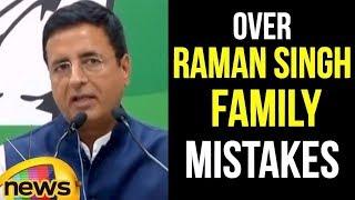 Randeep Singh Surjewala Latest Speech in Raipur | Congress Latest News | Mango News - MANGONEWS