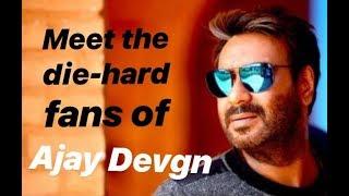 OMG! Ajay Devgn's fans get haircut with his face on their heads | TellyChakkar - TELLYCHAKKAR