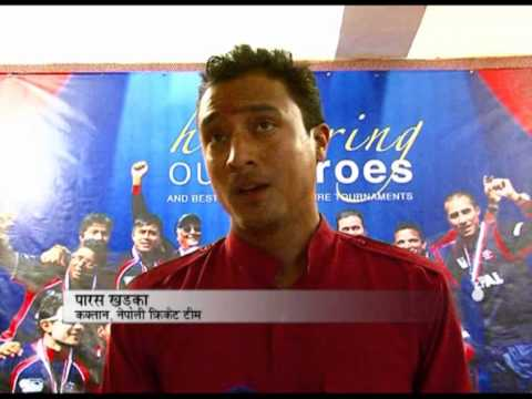 Nepalese cricket fan report by anuz thapa