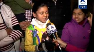 Republic Day: Delhi kids excited to see Chief guest, US President Obama - ABPNEWSTV