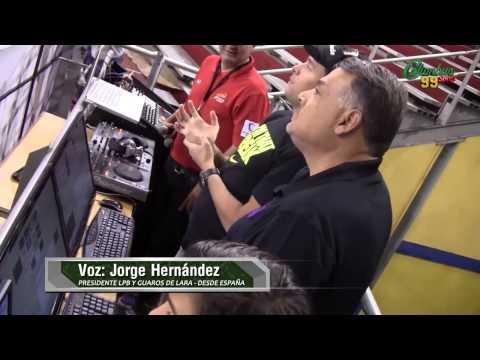 ENTREVISTA A JORGE HERNANDEZ PDTE DE LA LPB Y GUAROS DE LARA DESDE ESPAÑA 03-09-2014