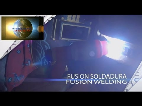 Fusion Welding TIG with Glass Shade Fusion de Soldadura TIG con Vidrio Sombra The Soldats4Ever