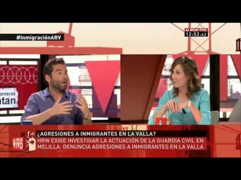 Marina Albiol participa en `Al Rojo Vivo` (La Sexta 19.08.2014)