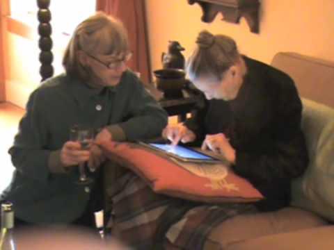 iPad — первый компьютер, купленный 100 — летней бабушкой из США…