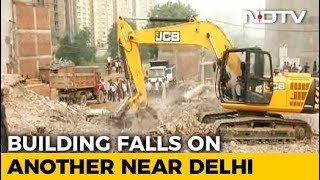 9 Dead In Greater Noida Building Collapse, Rescue Operations Continue - NDTV