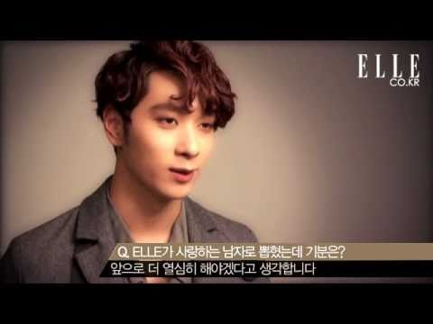 [BTS] Elle Korea Feb 2011: 50 Top Men Photoshoot (Chansung)