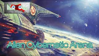 Royalty Free Alien Cybernetic Arena:Alien Cybernetic Arena