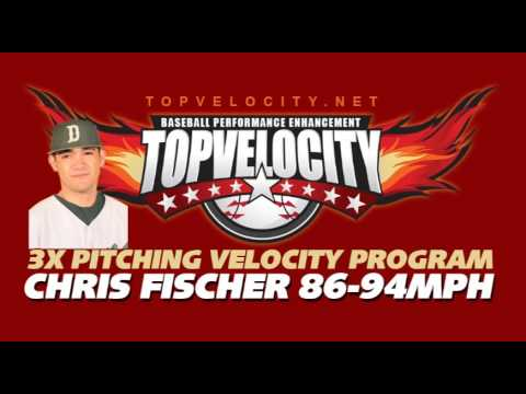 Chris Fischer 86-94mph on the 3X Pitching Velocity Program